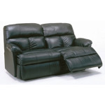 Triton Leather Studio Reclining Sofa