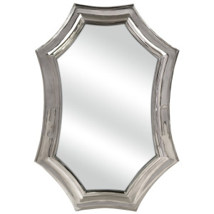 CK Curved Aluminum Wall Mirror